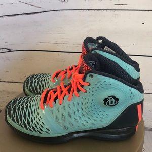 f16f049fb1cdb5 adidas Shoes - Adidas Derrick Rose 3.5 chi Town aqua   orange